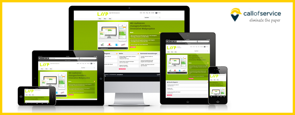 Service Business Website